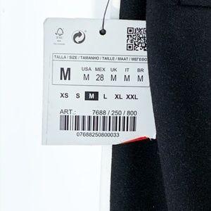 Zara Pants - ZARA black side stripe croppedankle pants     NWT!